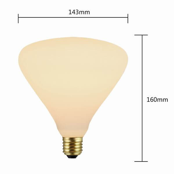 P143 Decorative Frosted Light Bulbs