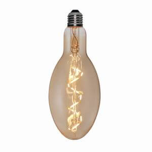 Decorative Nostalgic Led Lamps CT90 Spiral Led Filament CT90*220*SG