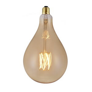 Large Size Decorative A165 Vintage Led Bulbs 8W A1650608