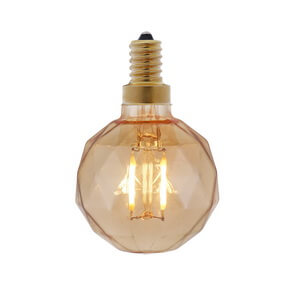 Crystal Glass Vintage Led Bulbs for String Lights G50-C0202